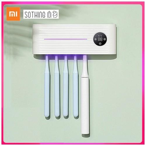 Xiaomi Youpin Sothing Toothbrush Sterilizer Holder Box Tempat Sikat Gigi Antibakteri - M01 - White