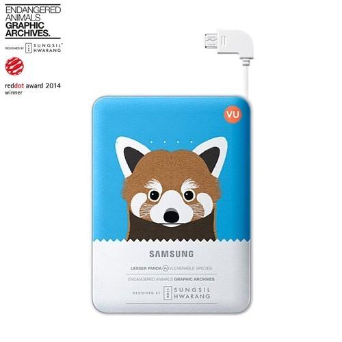 Samsung Animal Power Bank 8400 mAh - Blue