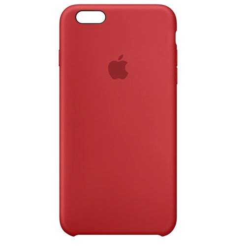 Apple Silicone Case for iPhone 6S Plus - Red