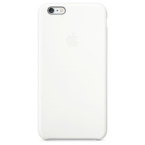 Apple Silicone Case for iPhone 6S Plus - White