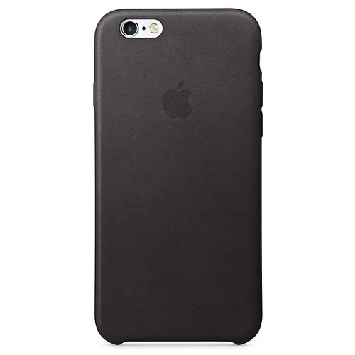 Apple Leather Case for iPhone 6S Plus - Black
