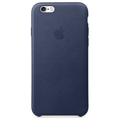 Apple Leather Case for iPhone 6S Plus - Midnight Blue