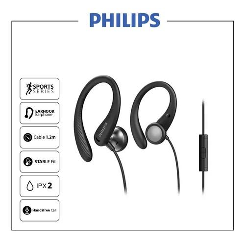 Philips In-ear sports headphones with mic TAA1105BK - Black