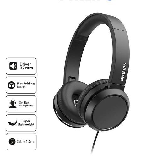 Philips On-ear headphones TAH4105BK - Black