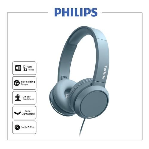 Philips On ear headphones TAH4105BL - Blue