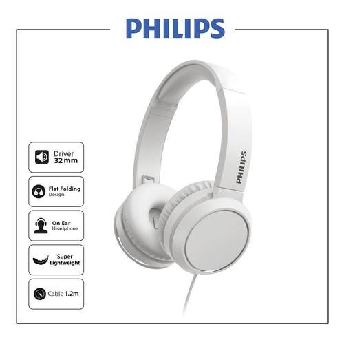 Philips On ear headphones TAH4105WT - White