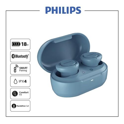 Philips In-Ear True Wireless Headphones TAT1215BL - Blue