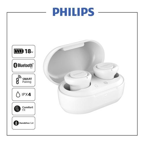 Philips In-Ear True Wireless Headphones TAT1215WT - White