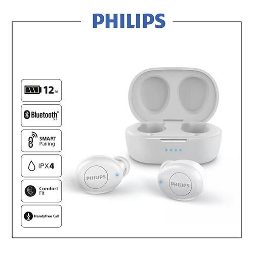 Philips In-ear true wireless headphones TAT2205WT - White