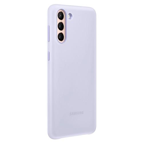 Samsung S21+ LED Back Cover - Violet (EF-KG996CVEGWW)