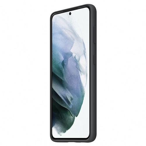 Samsung Galaxy S21 Silicone Cover - Black (EF-PG991TBEGWW)