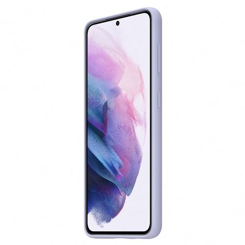 Samsung Silicone Cover for Galaxy S21 - Violet (EF-PG991TVEGWW)