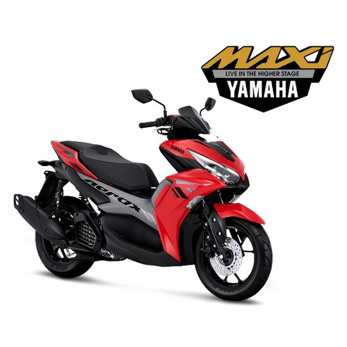 Yamaha All New Aerox 155 Connected Version - Red (Bogor)