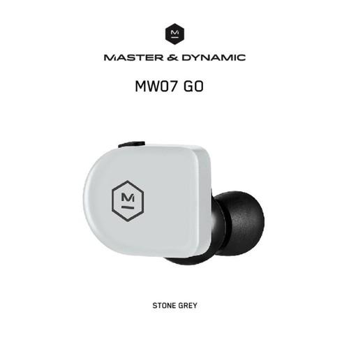 Master & Dynamic True Wireless Earphones - MW07 Go - Stone Grey