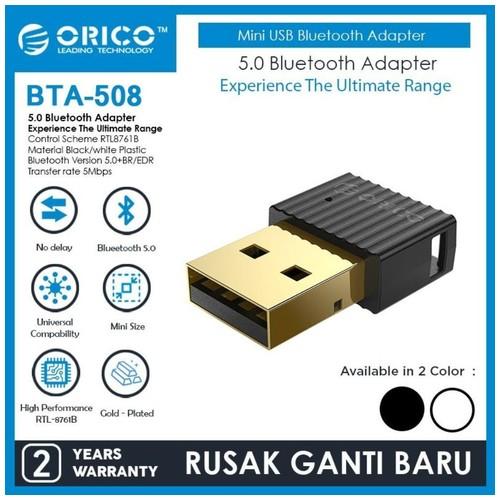 ORICO BTA-508 5.0 Bluetooth Adapter - Black
