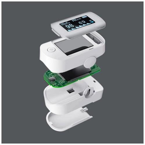 Xiaomi Yuwell Alat Pengukur Detak Jantung Kadar Oksigen Fingertip Pulse Oximeter Yx303 White Dinomarket