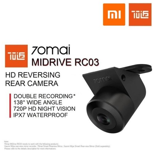 XIAOMI 70MAI Car Reversing Rear Camera - MiDrive RC03