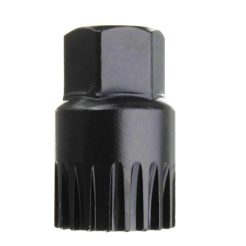 Kunci Crank Rantai Sepeda Wheel Spoke Spanner Wrench Repair Kit - MO1803 - Black