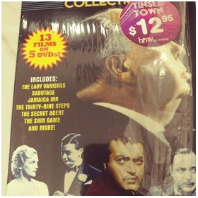 DVD Alfred Hitchcock collec