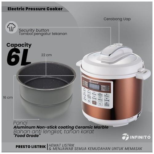 Infinito Electric Pressure Cooker EPC 01