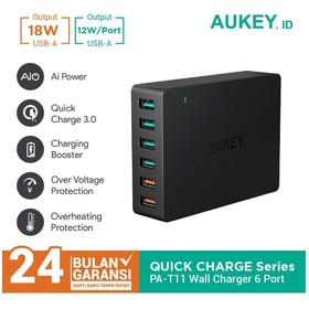 Aukey Charger 6 Ports 60W Q