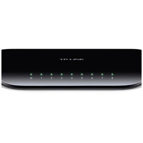 TP-LINK TL-SG1008D: 8-Port Gigabit Desktop Switch