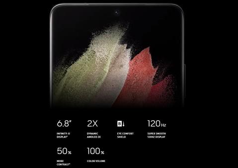 Samsung Galaxy S21 Ultra (RAM 12GB/128GB) - Phantom Black