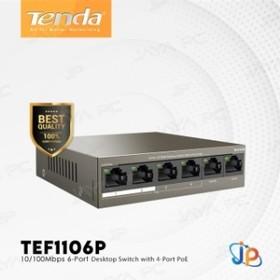 Tenda Switch 4 Port PoE 63W