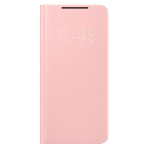 Samsung Galaxy S21 LED View Cover - Pink (EF-NG991PPEGWW)