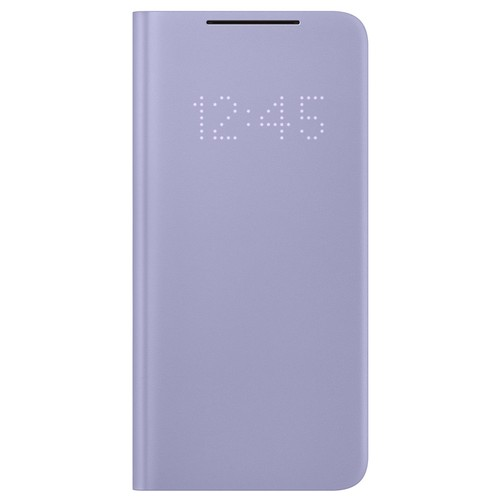 Samsung Galaxy S21 LED View Cover - Violet (EF-NG991PVEGWW)