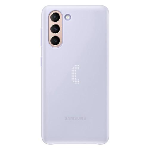 Samsung Galaxy S21 LED Back Cover - Violet (EF-KG991CVEGWW)