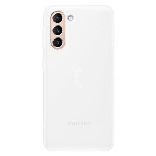 Samsung S21 LED Back Cover - White (EF-KG991CWEGWW)