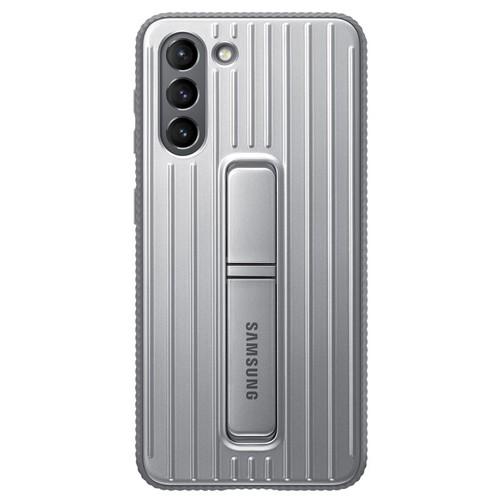 Samsung Galaxy S21 Protective Standing Cover_JDM - Gray (EF-RG991CJEGWW)