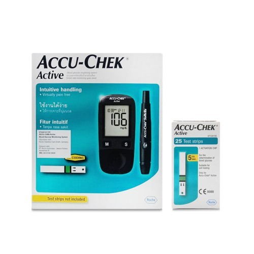 Accu Chek Active Extra 25 Pack