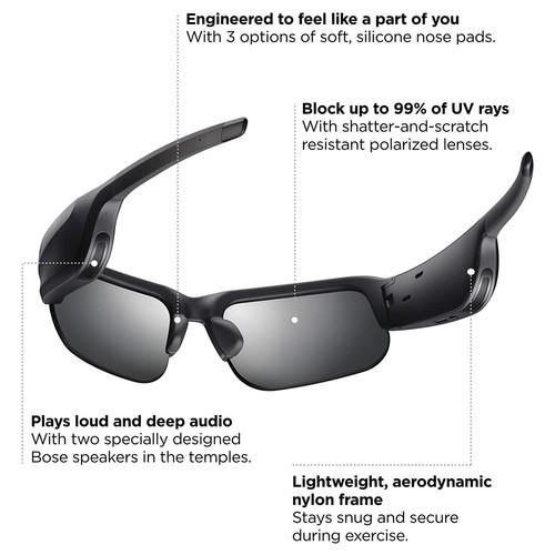 Bose Frames Tempo Bluetooth Audio Sunglasses (MMPRA0111) - Black