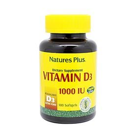 Natures Plus Vitamin D3 100