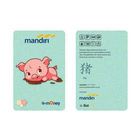 Mandiri E-Money Chinese New