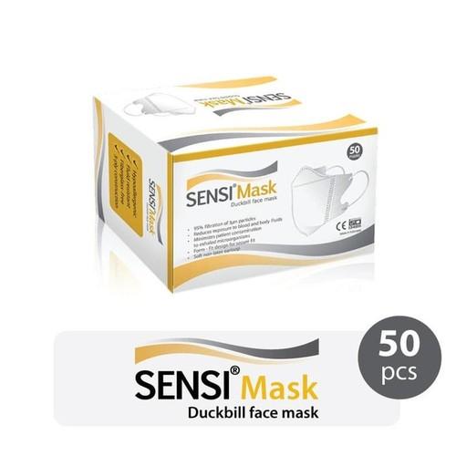 Sensi Masker Duckbill - 50pcs