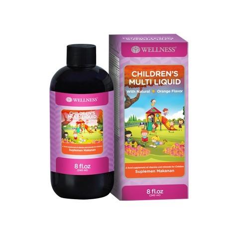 Wellness Children's Multi Liquid - 8 OZ