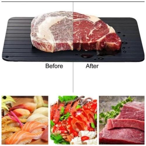 Talenan Plat Pencair Makanan Daging Beku Defrosting Tray Plate