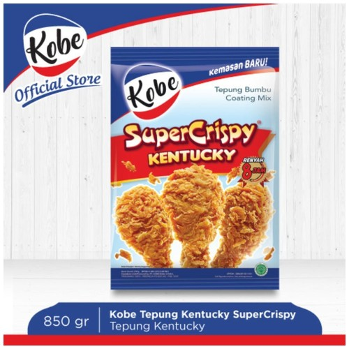Kobe Tepung Ayam Kentucky Super Crispy 850gr
