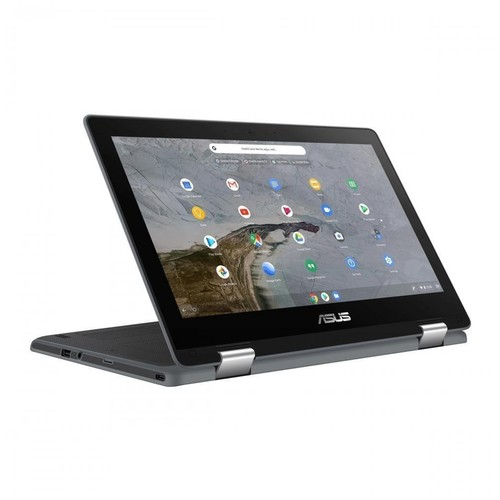 ASUS Chromebook Flip C214MA-BU0305 (Celeron N4020 / 4GB / 32GB eMMC / Touchscreen / 3 Years) - Dark Grey
