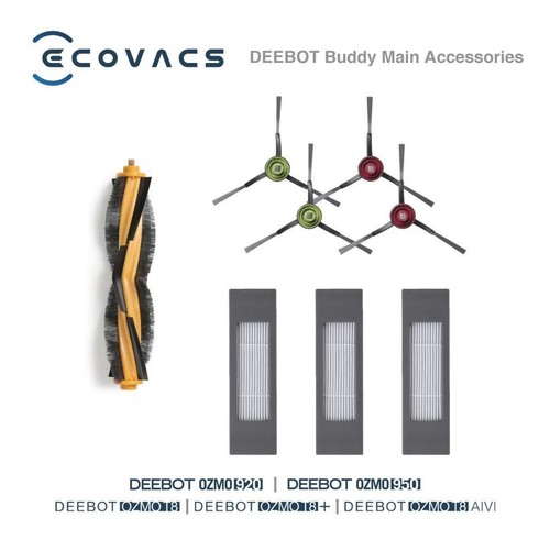 Ecovacs  Aksesoris DEEBOT Buddy OZMO 920 / 950 / T8 / T8 AIVI Main Accessories