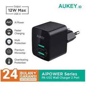 Charger Aukey 2 Port 12W wi