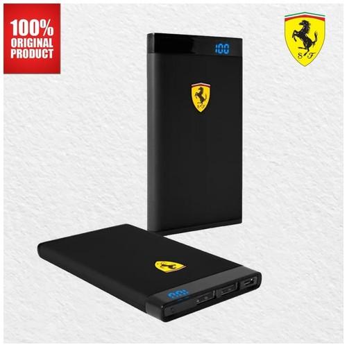 Ferrari Powerbank 12000 mAh - Black