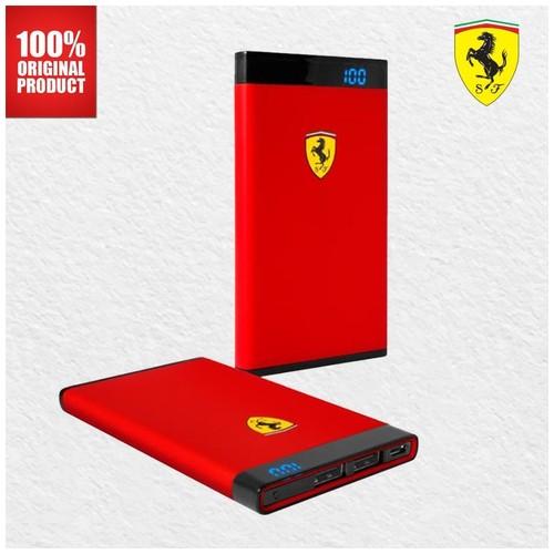 Ferrari Powerbank 12000 mAh - Red