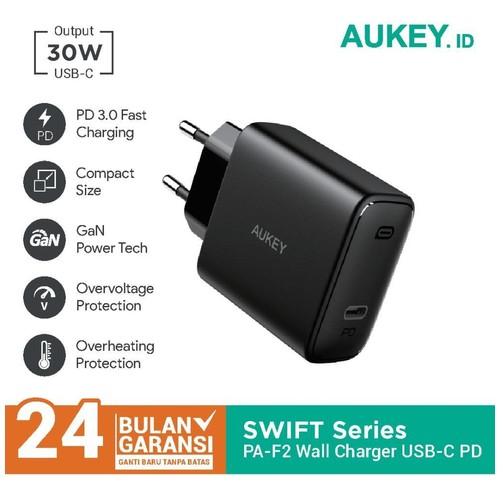 Aukey PA-F2 Swift Series 30W PD Charger - 500481