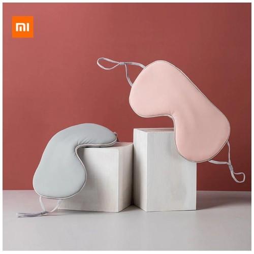 Xiaomi Jordan & Judy Sleeping Mask Penutup Mata Double Sided Breathable Ice Silk Eye Patch HO389 - Pink