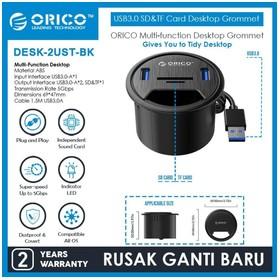 ORICO DESK HOLE 2 Port USB3