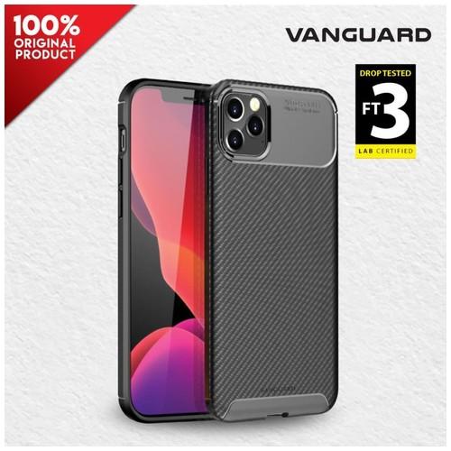 Case iPhone 12 / 12 Pro 6.1 Vanguard Shield Carbon - Black